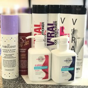 Color Shampoos & Conditioners